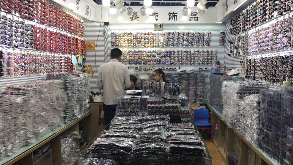 Importação de Bijuteria Da China Loja com enfeites para cabelo e ademais acessórios na China