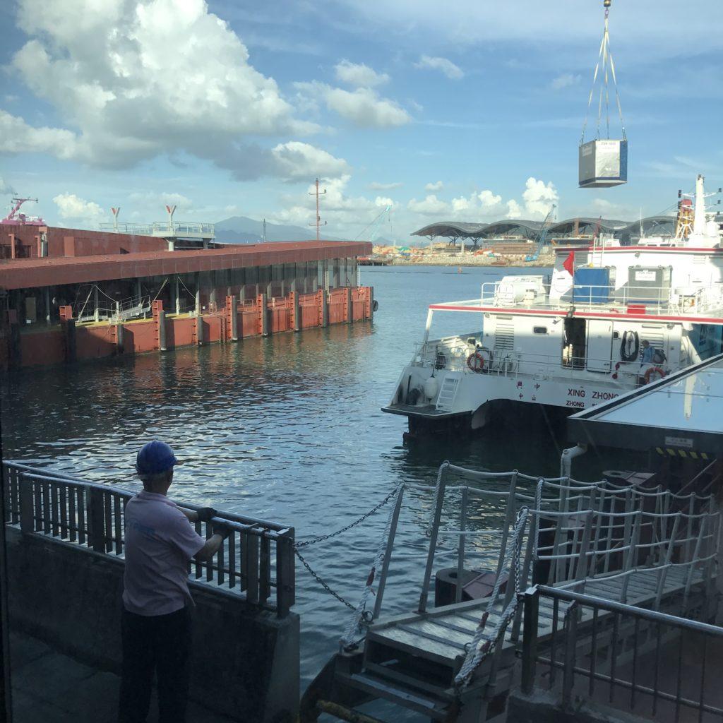 Como ir de Hong Kong a Macau Barco em algum local da China