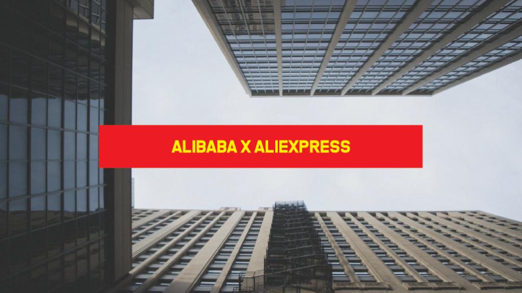 Alibaba x AliExpress Alibaba e Aliexpress
