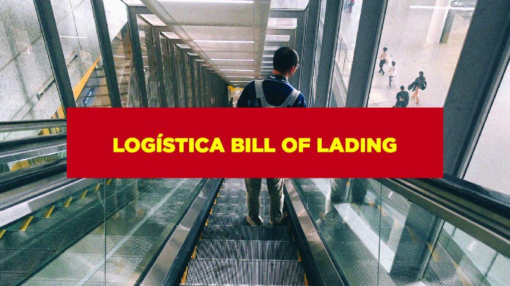Logística Bill of Lading e Container Logística Bill of Lading e container