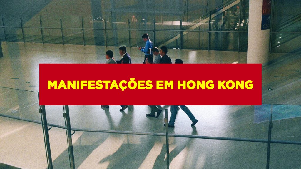 Manifestações em Hong Kong Manifestações em Hong Kong