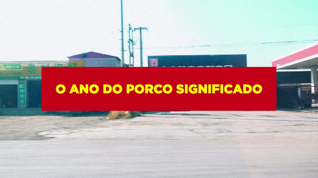 O ano do porco significado Ano do porco significado