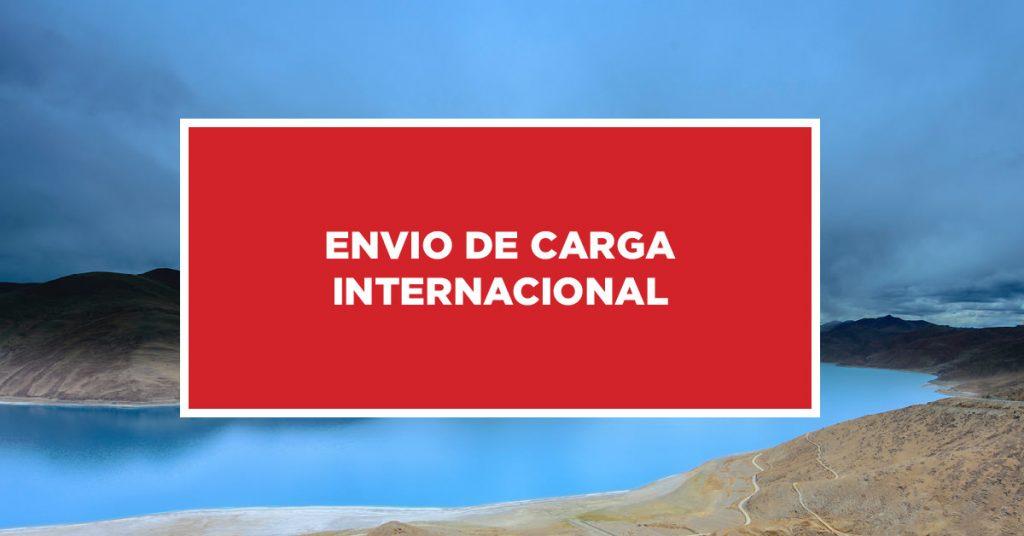 Envio de Carga Internacional Monitoramento de envio para carga internacional na China