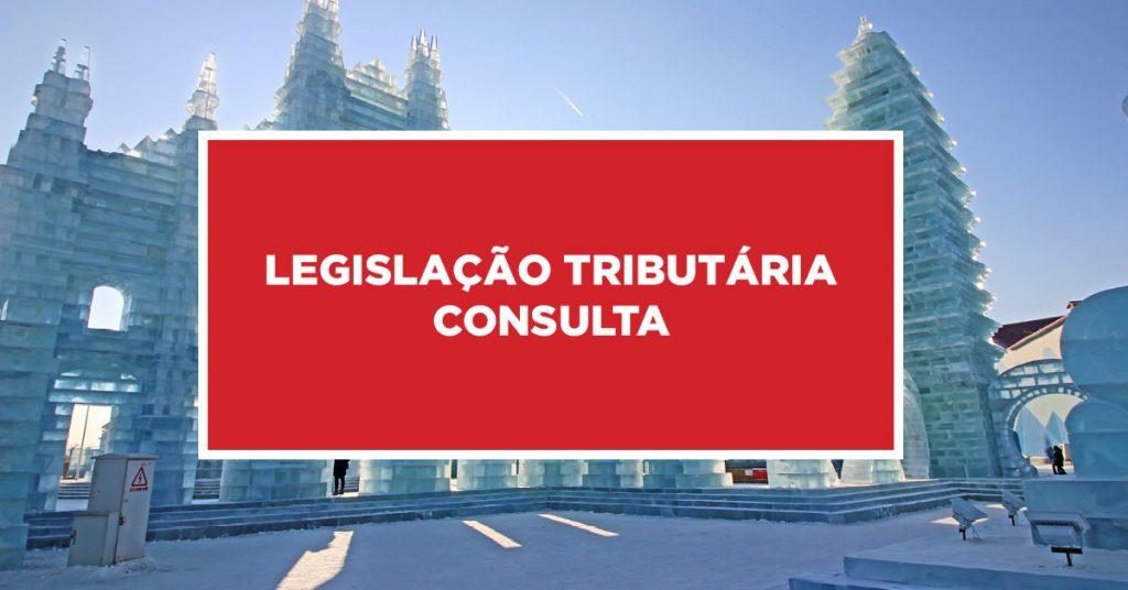 Legislação tributária consulta Busca pela lesgislação tributária na China