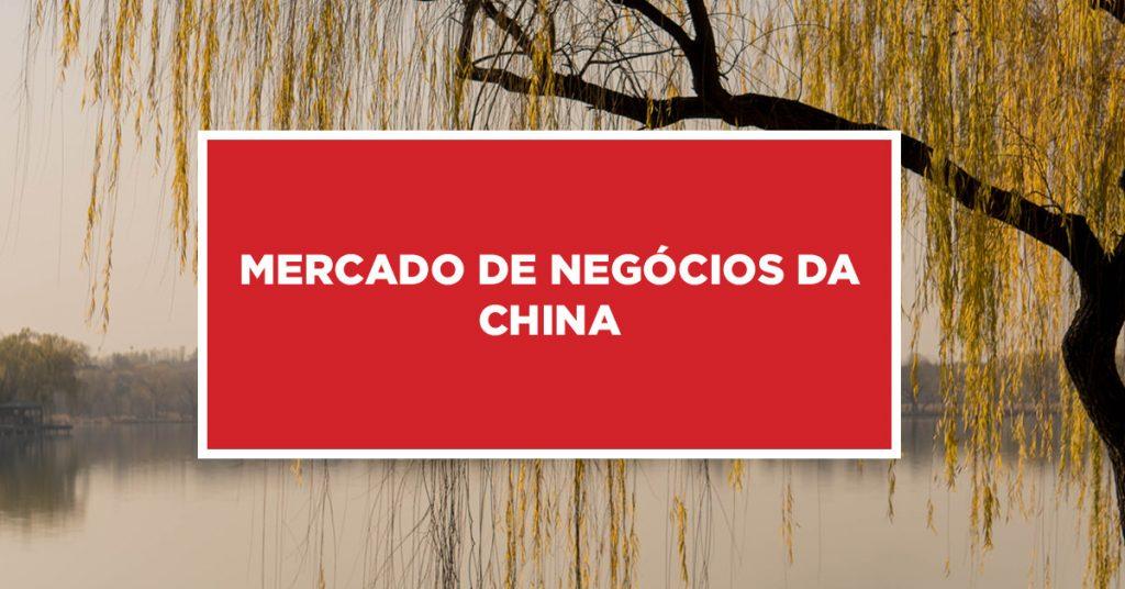 Mercado de negócios da China Negociações em estabelecimentos na China