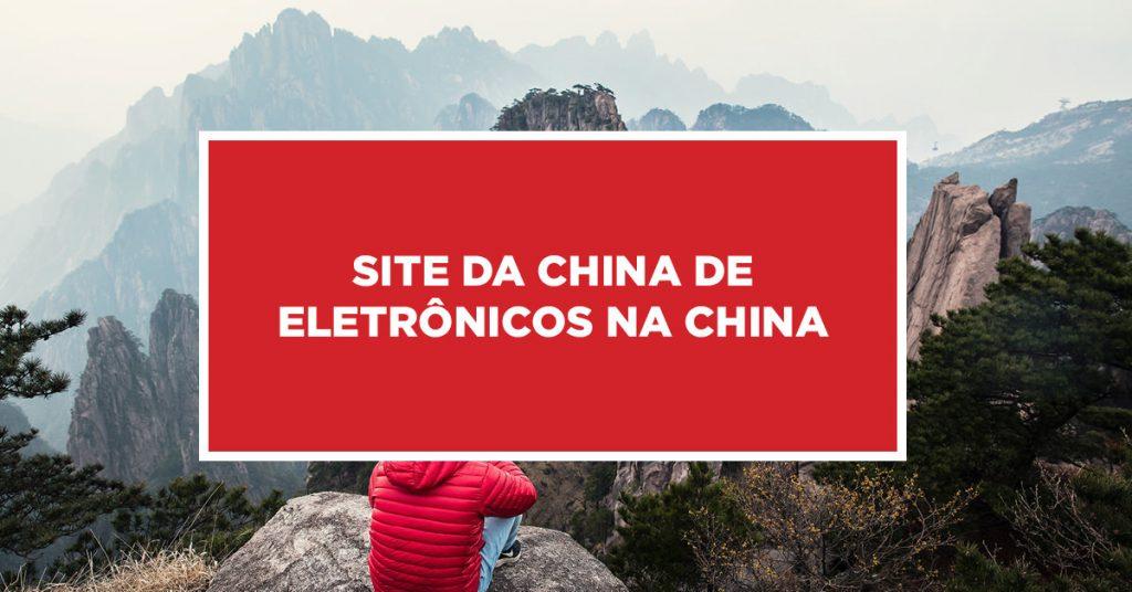 Site da China de Eletrônicos na China Busca de sites de produtos eletrônicos da China